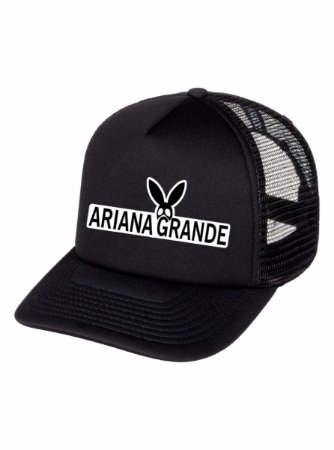 Boné Ariana Grande Dangerous Woman Fã Aba Curva Redinha Fá