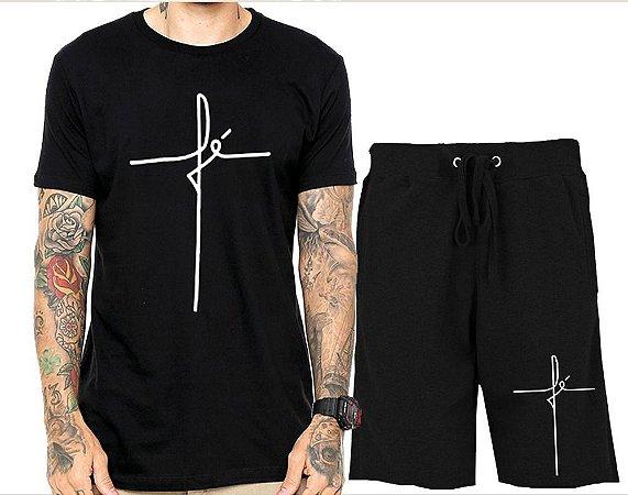 134e1b6fb5 Kit Camiseta + Bermuda Fé The Hope