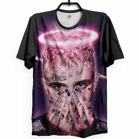 Camiseta Camisa Estampa Full 3d Lil Peep Love Promoção