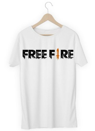 Camiseta Camisa - Free Fire - Seu Nick - Nickname Blusa Top!