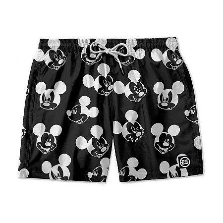 Short Bermuda Ney Moda Praia Mauricinho Mickey