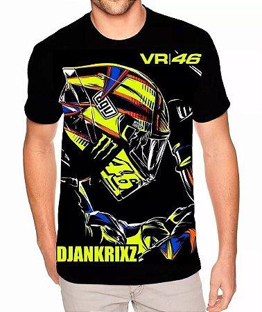 Camisa Estampa Full Valentino Rossi The Doctor 46