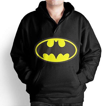 Blusa Moletom Com Capuz Batman