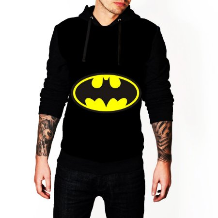 Blusa De Frio Estampa Full Batman Moletom Unissex