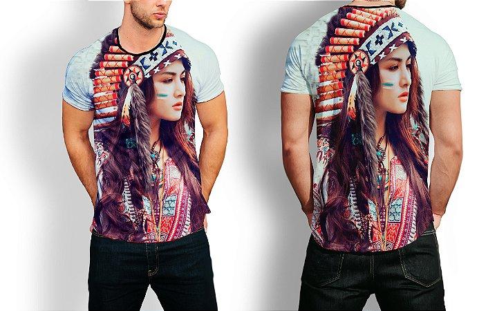Camiseta Longline Estampa Full