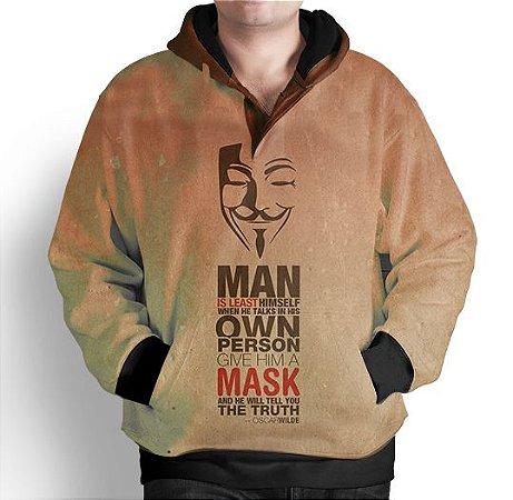 Blusa De Frio Moletom Estampada Anonimos
