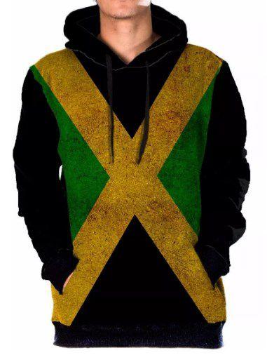 Blusa Moletom Full Jamaica Tumblr