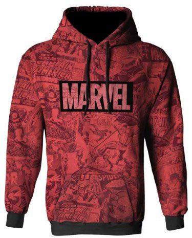 Blusa Moletom Full Marvel, Capitão America Vingadores