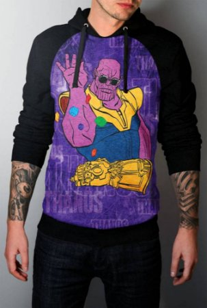 Blusa Moletom Full Thanos