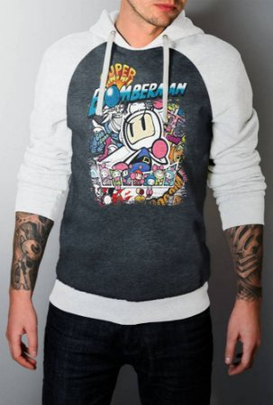 Blusa Moletom Full Bomberman