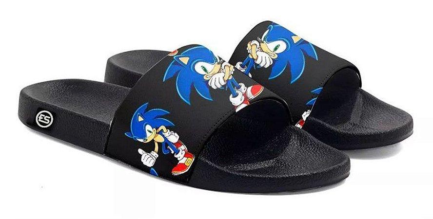 Chinelo Sonic Slide Sandalia Unissex Top !