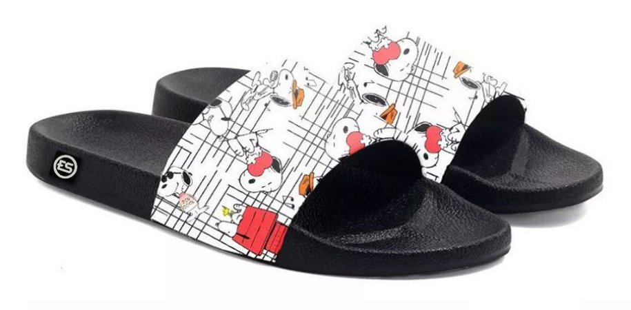 Chinelo Slide Snoopy Desenhos