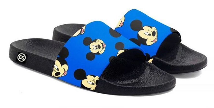 Chinelo Mickey Slide Sandalia Unissex Top !