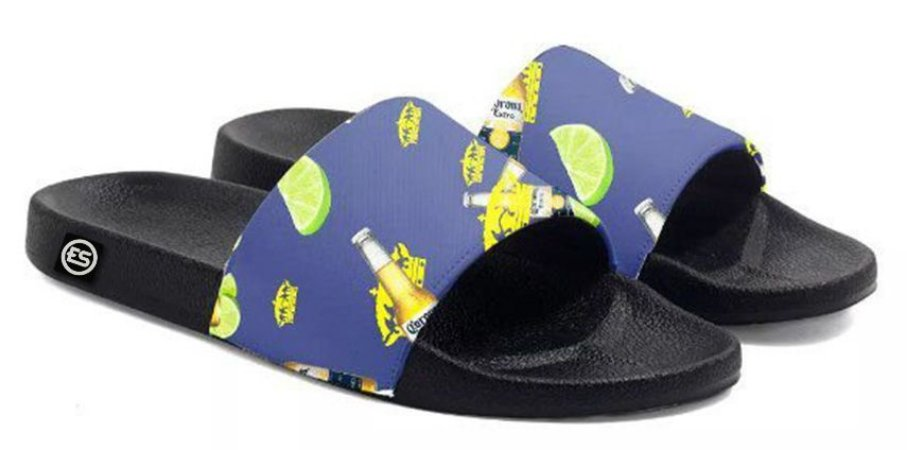Chinelo Corona Slide Sandalia Unissex Top