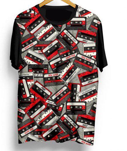 Camiseta Camisa Masculina Full Fita