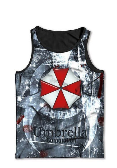 Camiseta  Regata Full Print Umbrella
