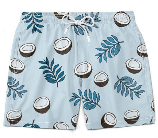 Short Bermuda Moda Praia 2019 - Cocô