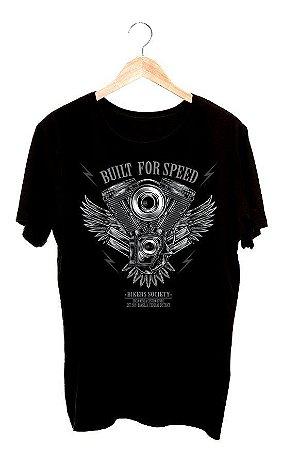 Camisa Camiseta Built For Speed