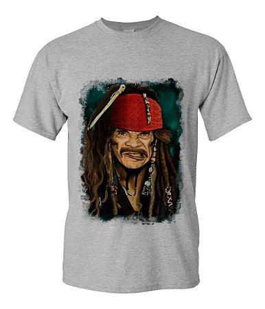 Camisa Camiseta Seu Madruga Pirata