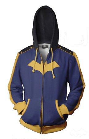 Blusa Agasalho Casaco Full Batman de Ziper