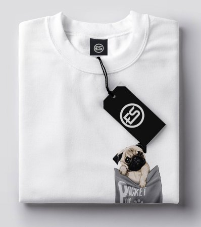 Camisa Camiseta PUG