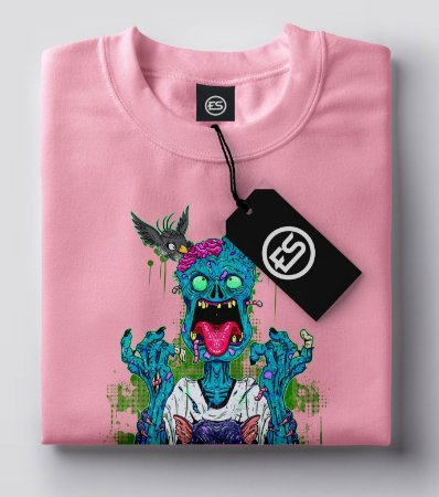 Camisa Camiseta ZOMBIE COOL