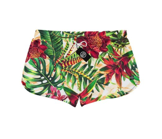 Short Feminino Moda Praia Patricinha FLORAL ES 01