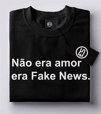 Lançamento Camiseta Carnaval Frases - Não era amor - Preto