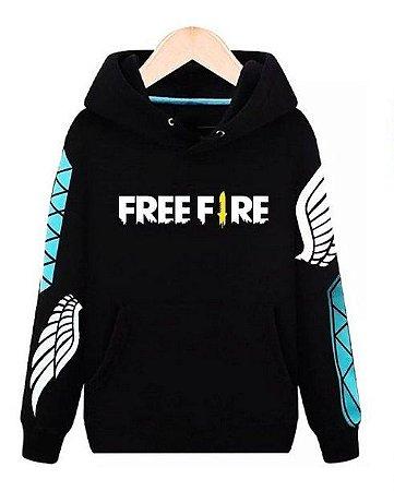 Moletom Free Fire Angelical Estilo Game