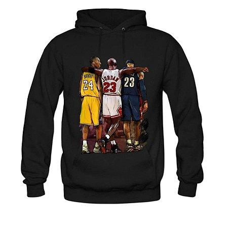 Blusa De Frio Moletom Estampada Eterno Kobe Bryant