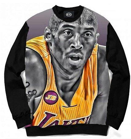 Blusa Moletom Gola Careca Full Eterno Kobe Bryant