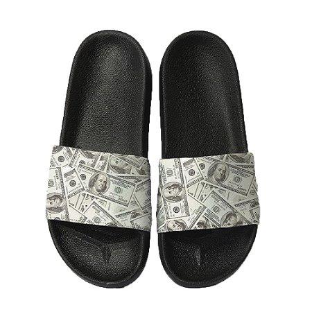 Chinelo Slide Sandalia Unissex Top - Dollar Money