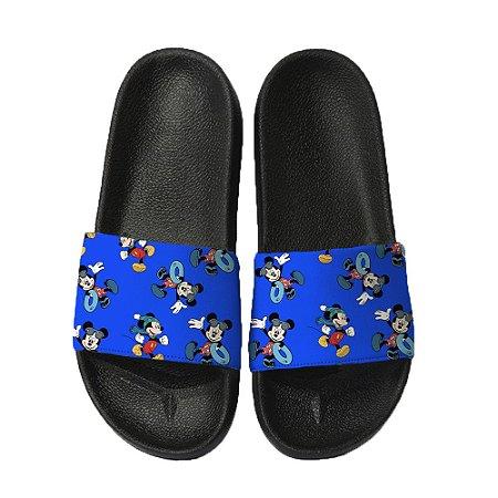 Chinelo Slide Sandalia Unissex Top - Pool Mickey
