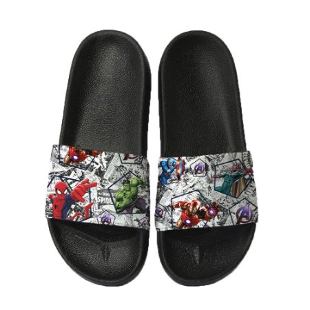 Chinelo Slide Sandalia Unissex Top - Marvel Vingadores