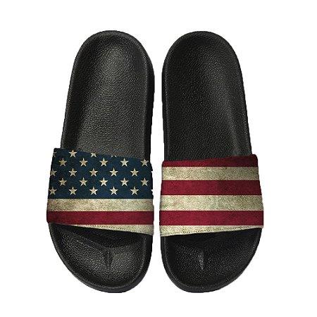 Chinelo Slide Sandalia Unissex Top - EUA