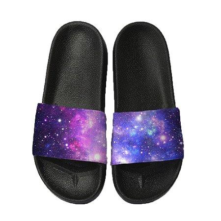 Chinelo Slide Sandalia Unissex Top - Galaxy