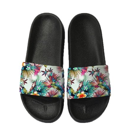 Chinelo Slide Sandalia Unissex Top - Tropical Flowers