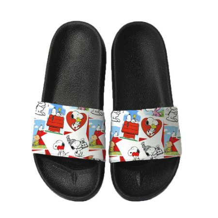 Chinelo Slide Sandalia Unissex Top - Snoopy