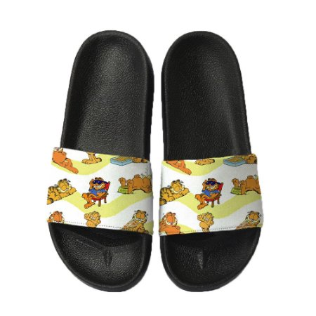Chinelo Slide Sandalia Unissex Top - Garfield
