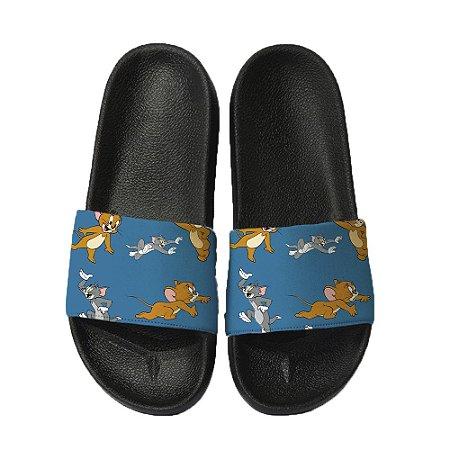 Chinelo Slide Sandalia Unissex Top - Tom e Jerry