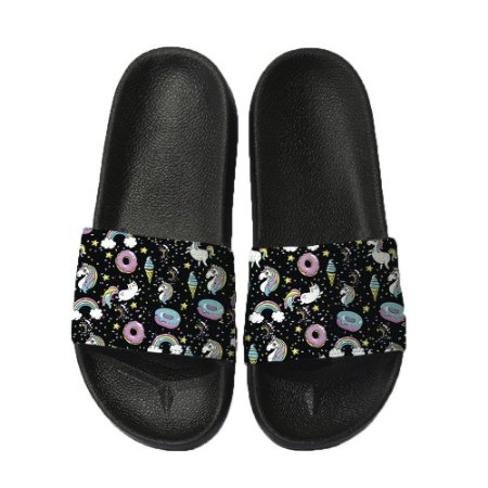 Chinelo Slide Sandalia Unissex Top - Unicórnio