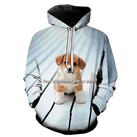 Blusa Moletom Estampa Full 3D - Chilhood Pet