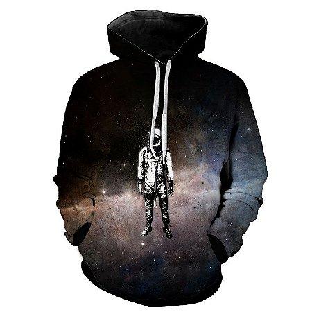Blusa Moletom Estampa Full 3D - Astronaut Alone