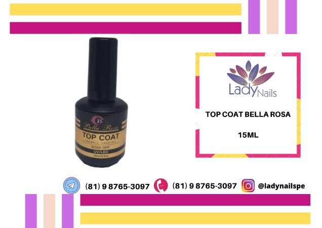 TOPCOAT BELLA ROSA