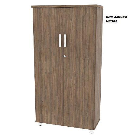 Armário em madeira Alto Fechado modelo Alternativa 158cm x 81cm x 38cm