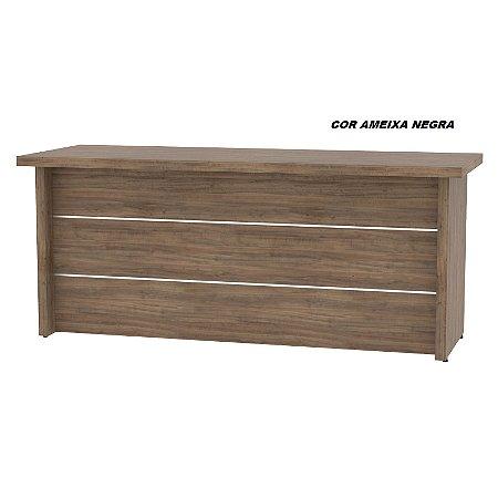 Mesa em madeira 180cm larg x 67cm prof x 76cm altura  linha Bella New Star sem gavetas