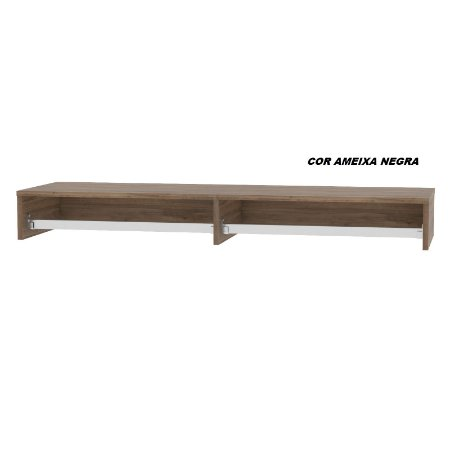 Cabideiro em madeira modelo ECO 120cm larg x 36cm prof x 14cm alt