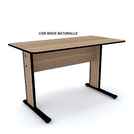 Mesa em madeira 15mm de espessura com bordas em PVC Ergosoft 180º linha Maxxi Marca Pandin