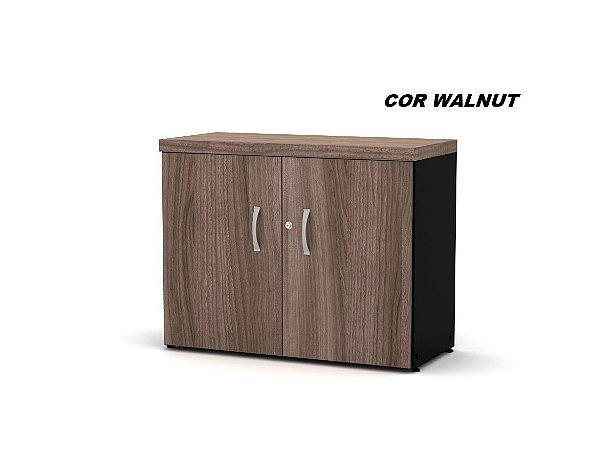 Armário em madeira 2 portas com chave 01 prateleira interna 70cm x 80cm x 40cm modelo PE40