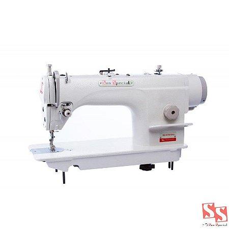 Máquina De Costura Industrial Reta C/ Motor Direct Drive - SS-8700-D